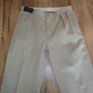 Polo Ralph Lauren Size 34W 30L New Chino Pants